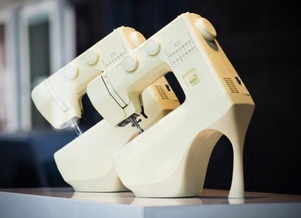 Küchenmaschine mit Schuh-Design
